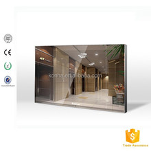 42 inch indoor magic mirror advertising screen used in W.C.with wifi/3G and android os