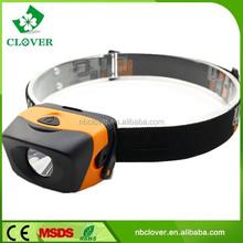 1W LED ABS 60 lumen led flashlight waterproof led headlamp