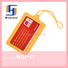 Silicone Colorful Collection TOP Selling Rubber Purse Fashion Luggage Tag