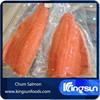 Well Trimmed IVP Frozen fish fillet Chum Salmon