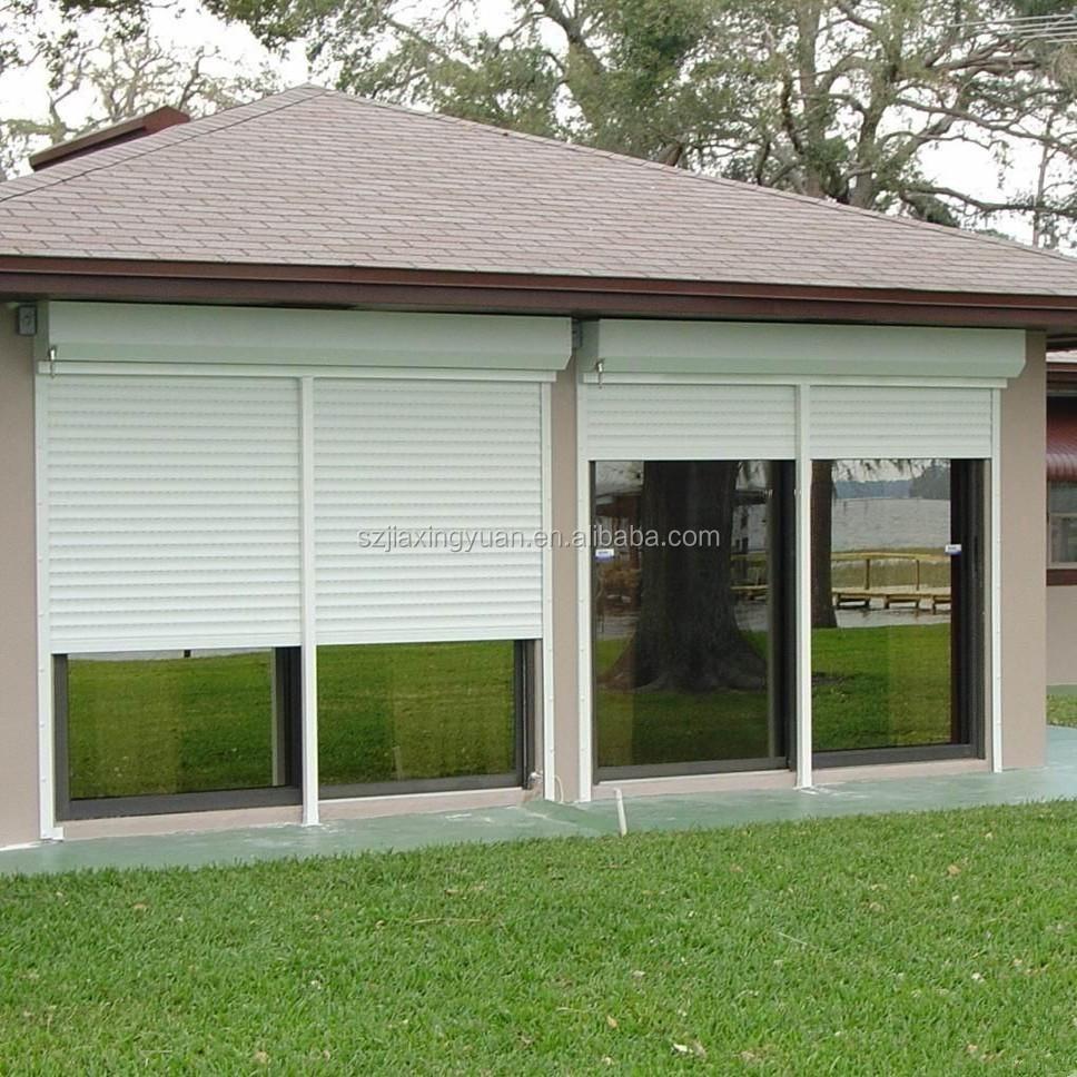Residential Hurricane Aluminum Exterior Rolling Shutter Buy Exterior Rollin