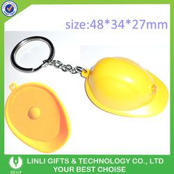Led Custom Promotion Helmet Key Chain, Cheap Helmet Key Chains With Logo