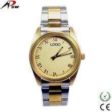 Gold alloy watch luxury watch wrist watch for Men