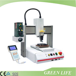 Automatic machine programmed desktop 3 axis sealant dispensing equipment