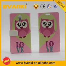 Wallet Style Foldable Flip PU Leather Case For HTC Desire 516 flip wallet case cover for HTC Desire 516 Case Cover animal produc
