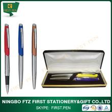 High Quality OEM Brand Brass Metal Pen Set For Gift