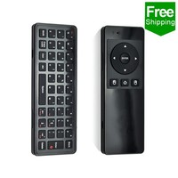 Free Shipping 2.4G android tv air mouse air remote For Google Android TV BOX/Player/tablet pc