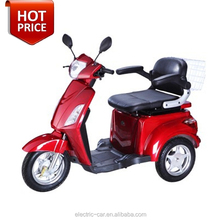 2015 hot sale 3 wheel electric mobility scooter motorcycle