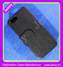 JESOY Hot Selling Sublimation For iPhone 6 Compatible Brand Leather Flip Phone Case Cover Card