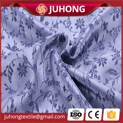 Floral designs jacquard fabric rayon man shirt fabric supplier