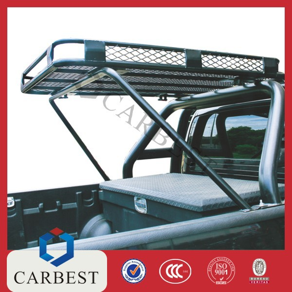 good quality steel powder coated roof rack with steel roll bar for vigo 05 11 buy roll bars. Black Bedroom Furniture Sets. Home Design Ideas