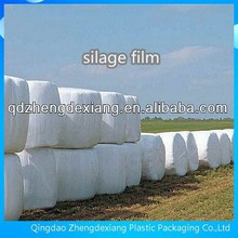 25mic white silage plastic film