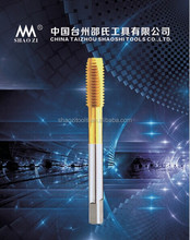 High Precision And Reliable Spiral Point Machine Tap For Blind Hole Screw Processing Long Shank And Coating Are Available