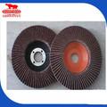 Hd97.2 yüksek kaliteli kahverengi korundum aşındırıcı bez flap disk metal ve ahşap parlatma