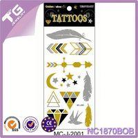 Wholesale Temporary Tattoo,Custom Fake Gold Silver Tattoos,Japanese Tattoo