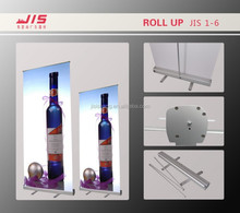 JIS1-6 hot selling display advertisement product 85*200 cm customize aluminum roll up display
