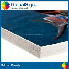 Good quality foam printed board for your branded or sales promotional
