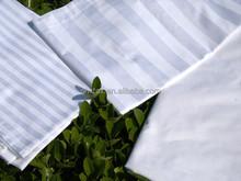 hotel bedding stripe fabric /satin stripe fabric for bedding sets/bedsheet fabric