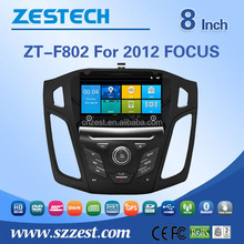 car dvd gps for Ford focus 2012 car audio system rearview mirror