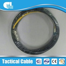 Hot sale single core armouring army field fight optical cable