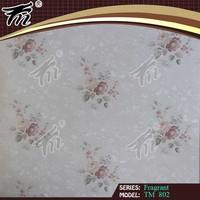 Fashion Modern Design Beautiful Pattern Decorative Pvc vinyl liquid wallpaper