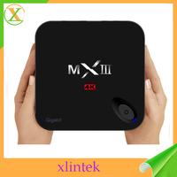 best iptv box Quad Core MXIII MXIIIG S812 1000M LAN smart android tv Box H.265 MXIII G with kodi full loaded addons