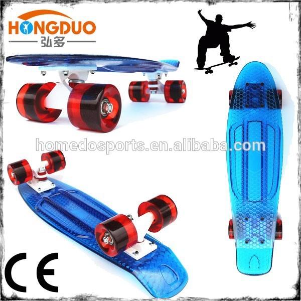 2015 nuevo diseño de estilo del penique Lucency patineta