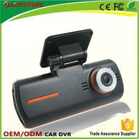 2.7'' 720P dual camera mini dvr 808 car key chain micro camera