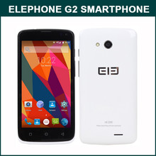 ELEPHONE G2 MTK6732M 64bit Quad Core 4.5 Inch FWVGA Screen Android 5.0 4G LTE Brand Smartphone In stock