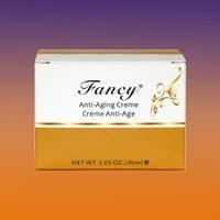 whitening face cream with glycolic acid, kojic acid, snail extract
