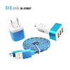 Portable mini car charger for smart phone
