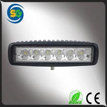 6 inch mini led driving light 18W led light auto tuning