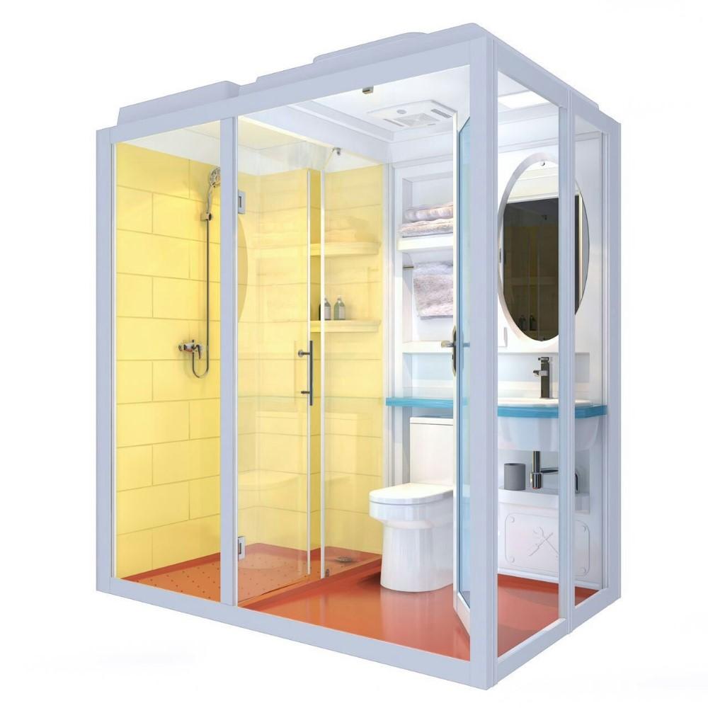 Exceptional The Advantage Of Prefab Bathroom Unit