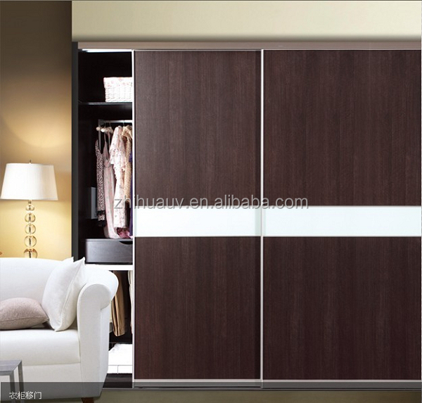 Grain color melamined mdf chipboard wardrobe without door cheap