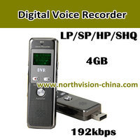 192kbps automatic voice recorder, timer recording device