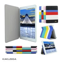 Kaku professional rotating stand leather case for tablet pc