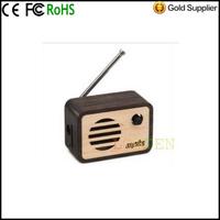 Motz Korea imports Motz Red MusicBox fifth story MP3 Super Mini wooden Radio Speaker