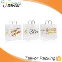 High Quality Hot Sale Friendly Packaging Bag Paper Materials Manufactory Paper Shopping Bag