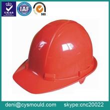 Custom Plastic Construction Helmet Mold