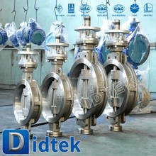 Didtek Oil and Gas wafer iron butterfly valves