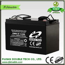 Lead Acid Rechargeable 12V 120AH Solar Battery
