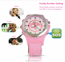 2015 latest wireless charge sos gps gsm watch, gps kids watch phone, sos emergency call mobile