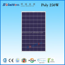 250w solar panel 60 cells solar photovoltaic module china factory direct sale