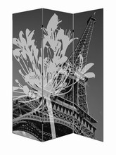 Eiffel Tower antique room divider partition screen