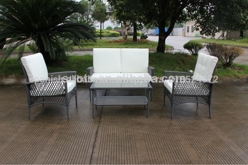 2014 venta caliente patr n de red de mimbre kd mesa de for Ocio muebles