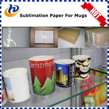 100gsm Fast Dry and Anti-curl A3 A4 Heat Transfer Paper Dye Sublimation Paper For Mugs, Phone Cases and Mouse Pads Printing