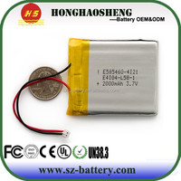 best price hot sale rechargeable 2000 mah li battery for digital device