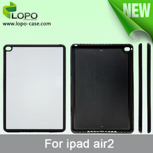 Sublimation hard PC cover case for Ipad Air 2 from LOPO,printable case