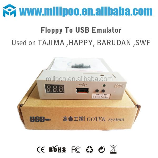 FUSB floppy to usb emulator for Tajima,Happy,Brother,Barudan,SWF,ZSK embroidery machine