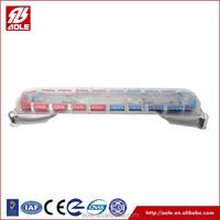 Aole 30-year manufacture 126w single row led light bar for police vehicles